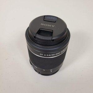 Sony Interchangeable Lens Model No. SAL55200-2